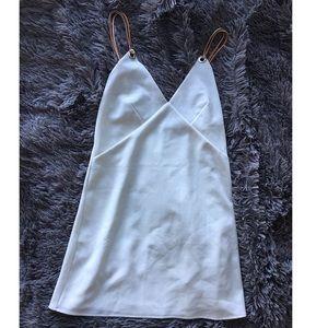 Zara White Mini Dress